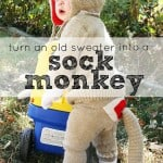 Easy DIY Halloween Costumes: Sock Monkey