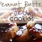 Indoor Activities Day 26: Peanut Butter & Jelly Cookies