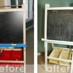 Quick Easel Makeover