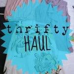 Thrifty Haul