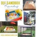 DIY Sandbox Roundup