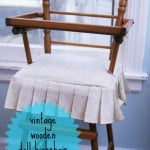 Doll Highchair Makeover