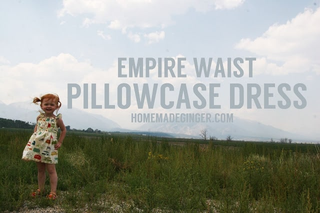 Empire Waist Pillowcase Dress