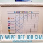 DIY Wipe-Off Job Chart