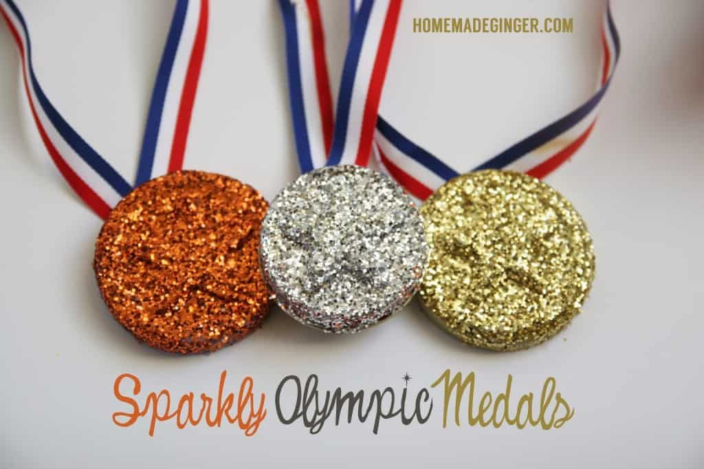 DIY Olympics Medals - Homemade Ginger