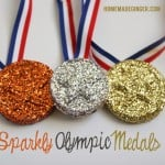 Kid Craft: Sparkly Olympic Medals