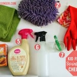 Spring Cleaning Checklist for a Healthy Child & Healthy World!