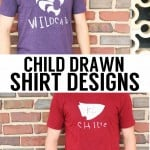 Child Drawn Shirt Designs