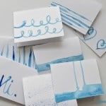 TUTORIAL: Make Your Own Set of Watercolor Cards