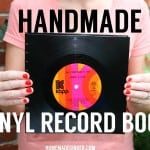 Handmade Books: Vinyl Record Book
