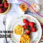 Freezer Friendly Mini Quiche
