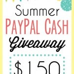 Summer Paypal Cash Giveaway!