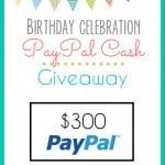 $300 Pay Pal Cash Giveaway!
