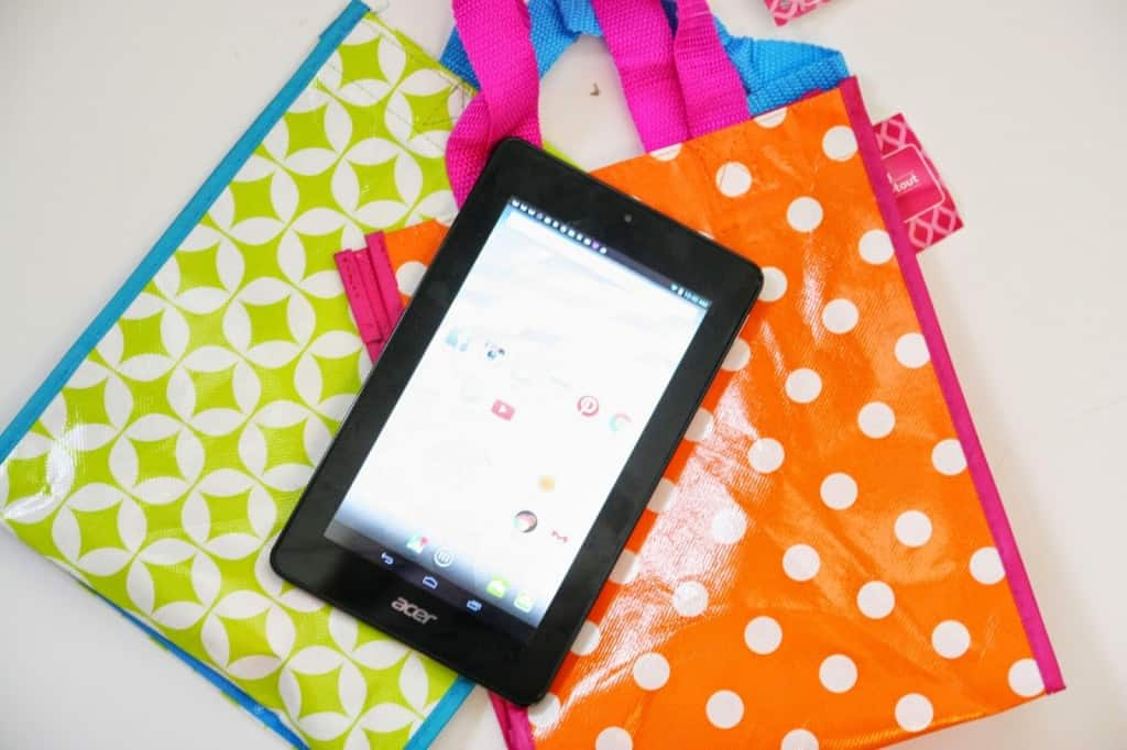 how to make a tablet bag