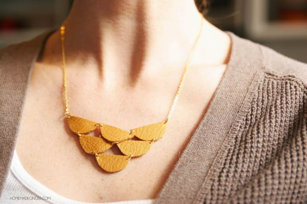 scallop product necklace scalloped in jewelry rosegold asos lyst pink collar