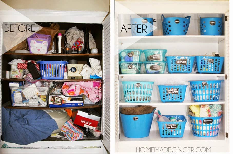 Nice Organize Your Entire Closet With Containers From The Dollar Store For Less  Than $20!