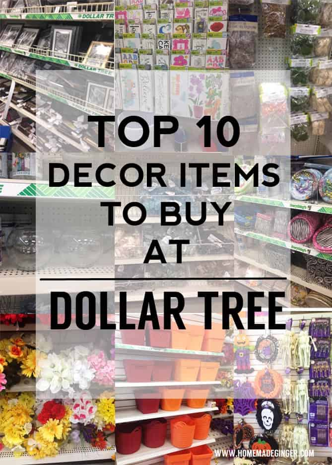 Dollar tree decor homemade ginger for Dollar store items online