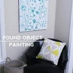 Found Object Painting