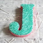 Q-Tip Letter Craft