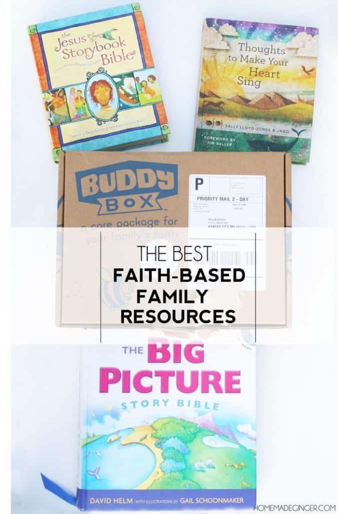 The best faith-based familiy resources for young kids!
