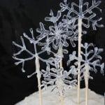 Snowflake Cake Decoration