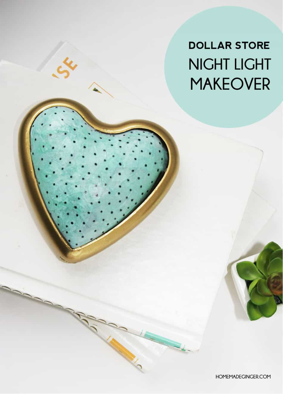 Night lights nursery - Make A Diy Night Light Out Of A Push Light From The Dollar Store Some