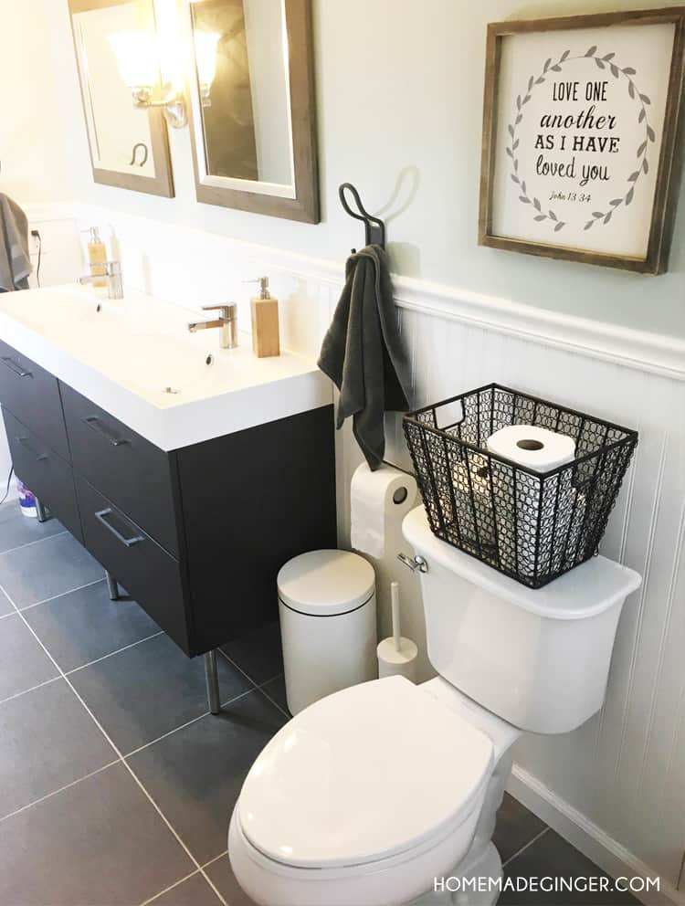 you can create a diy bathroom renovation on a budget you wont believe