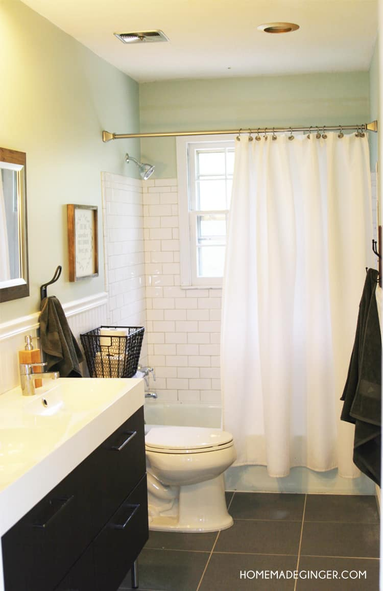 10 tips for a foolproof diy bathroom remodel homemade ginger for Pictures of remodel bathrooms