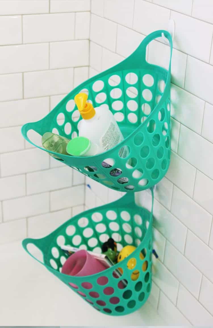 Completely organize your bathroom with stuff from Dollar Tree! This is the best post for