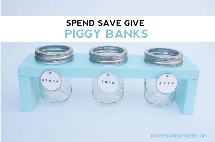 Teach your kids healthy money habits with this adorable DIY piggy bank!