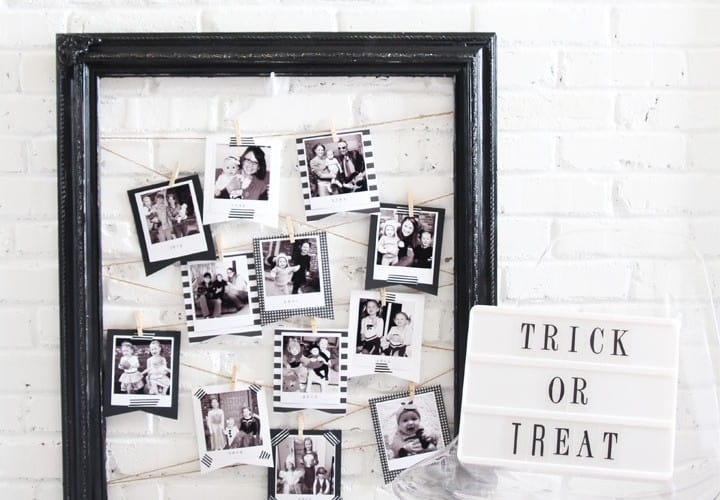 How to Display Halloween Pictures