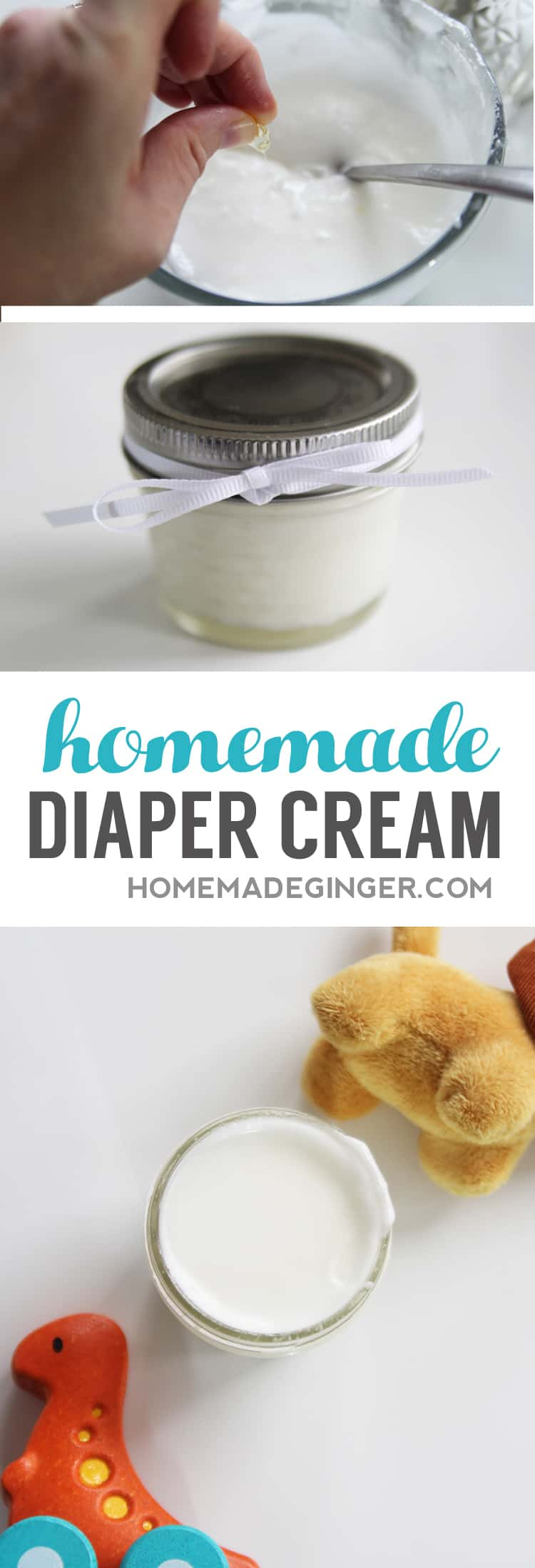 This natural homemade diaper cream is so easy to make without breaking the bank!