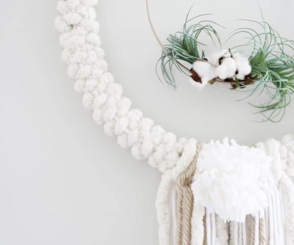 DIY Woven Wreath