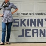 Repurposing Day 27:  Make Your Own Skinny Jeans