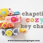 Chapstick Cozy Key Chains