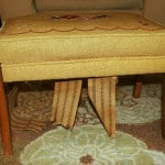 A Lovely Home Day 7: Footstool Makeover