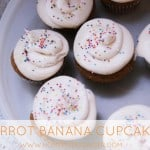 RECIPE: Carrot Banana Cupcakes