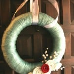 Vintage Post: Winter Wreath