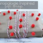 Anthropologie Inspired Gift Wrap
