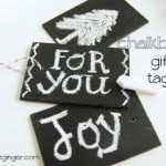 TUTORIAL: DIY Wooden Chalkboard Gift Tags