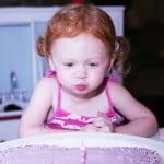 Jane's Purple Heart Cake