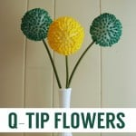 TUTORIAL: Q-Tip Flowers
