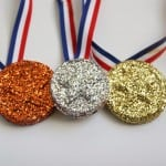 Easy Olympic Medal Craft For Kids
