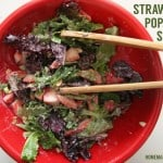 Strawberry Poppy Seed Spinach Salad
