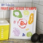 DIY Fruit and Veggie Stamps