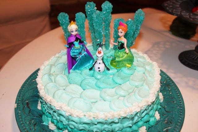 how to make a frozen themed cake Cake Recipe