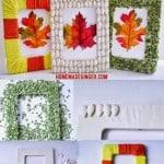 Kid Craft: Fall Frames 3 Ways