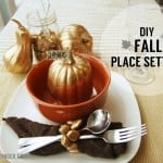 DIY Fall Place Setting Ideas