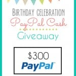 $300 Pay Pal Cash Giveaway!