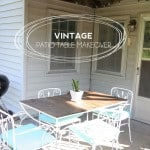 Vintage Patio Table Makeover